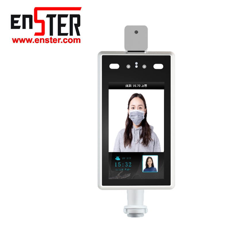 Multilingual Face Recognize Temperature Detection  8inch Smart Camera